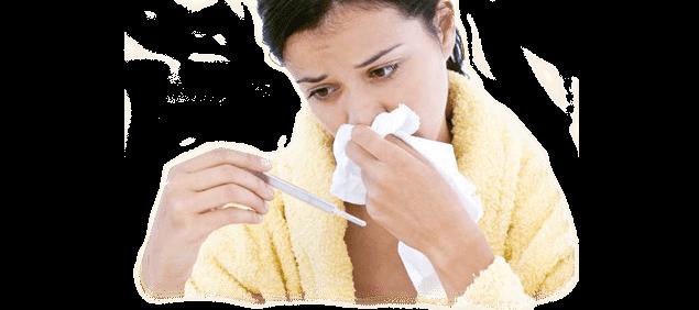 Allergia o sintomi del raffreddore